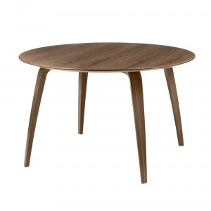 Table DINING ronde noyer