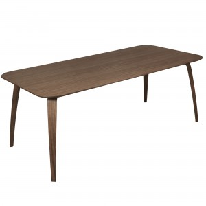 DINING rectangular table walnut