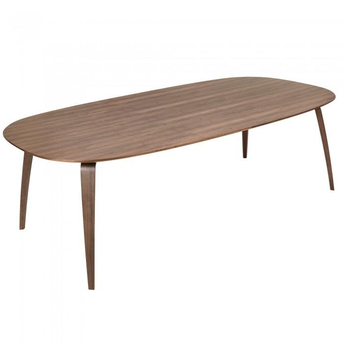 DINING rectangular table black