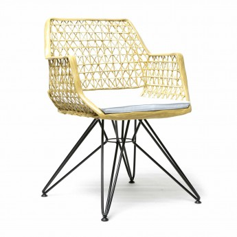 ANTI-C 105 chair gold/white