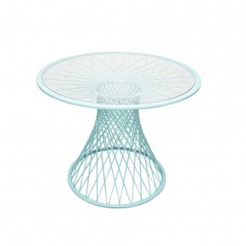 QUARANTINE table turquoise