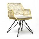Chaise ANTI-C 105 or/blanc