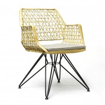 ANTI-C 105 chair gold/white