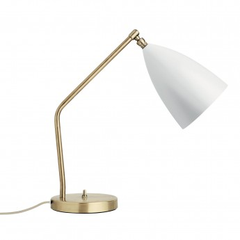 GRÄSHOPPA table lamp white