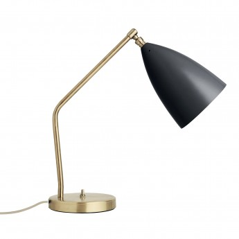GRÄSHOPPA table lamp black