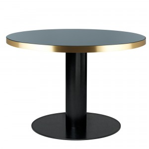 Table DINING 2.0 ronde gris granite