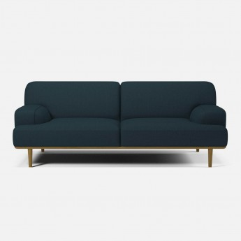 MADISON sofa 2 seats 1/2 Nantes Stone blue