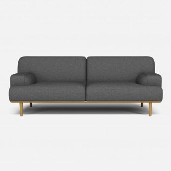 MADISON sofa 2 seats 1/2 Nantes Stone blue