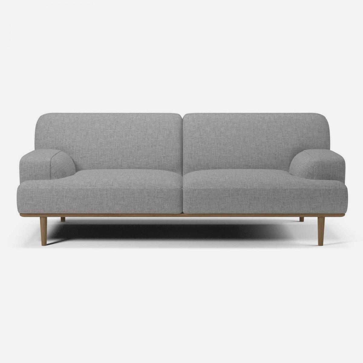 madison sofa 2 seats 1 2 nantes light grey bolia. Black Bedroom Furniture Sets. Home Design Ideas