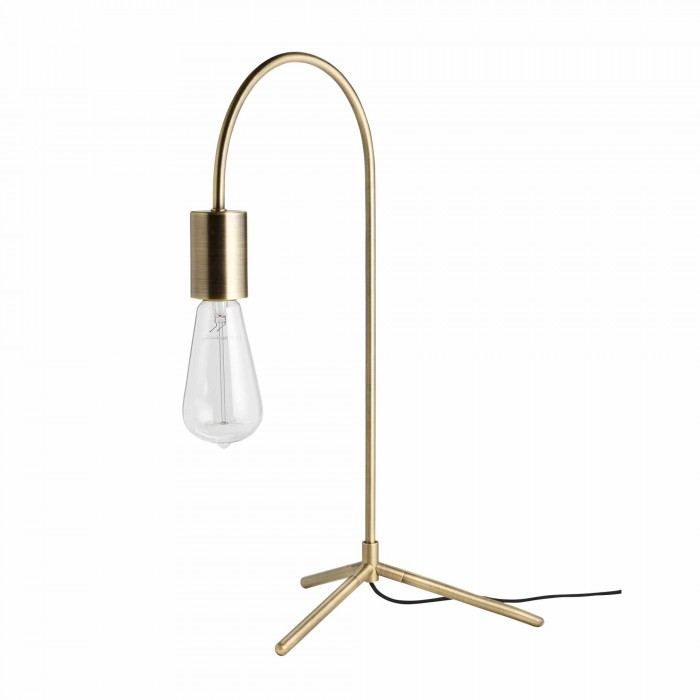 Lampe de table PIPER laiton