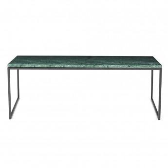 Table basse COMO L marbre vert