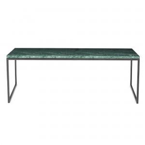 Coffee table COMO 120 x 60 - green marble