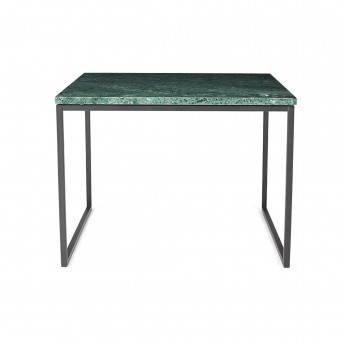 Coffee table COMO M green marble
