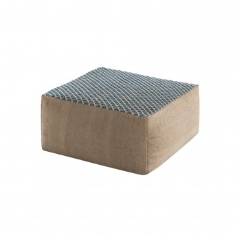Pouf RAW SMALL BLUE