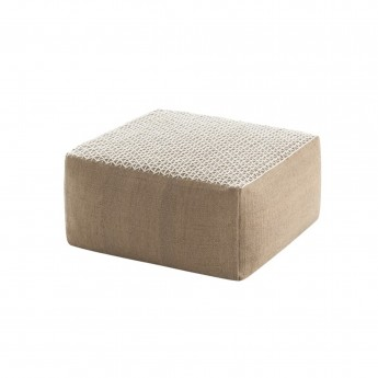 Pouf RAW SMALL White