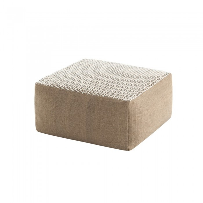 Pouf RAW SMALL Blanc