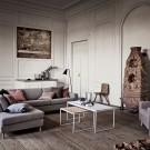 Table basse COMO 60 x 60 - marbre blanc