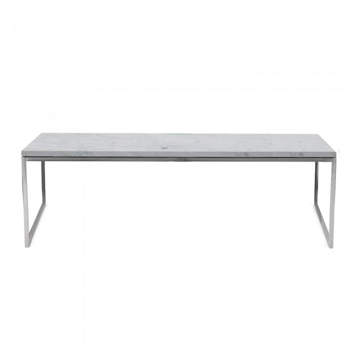 60 120 En X Marbre Blanc Table Basse Bolia Como XZOPiTku