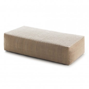 Pouf RAW White L