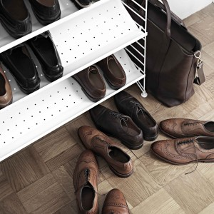 Metal SHOES SHELVES/ STRING system