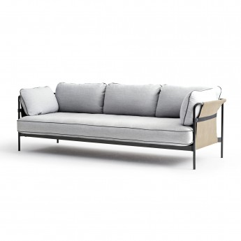CAN sofa 3 seaters - light grey 1