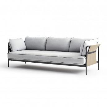 Canapé CAN 3 places - gris clair 1