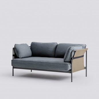 CAN sofa 2 seaters - 2 Blue