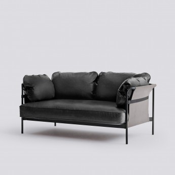 CAN sofa 2 seaters - 1 Black