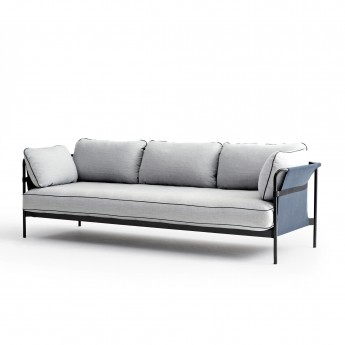 CAN sofa 3 seaters - Light grey 2