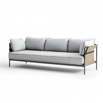 CAN sofa 3 seaters - Light grey 4