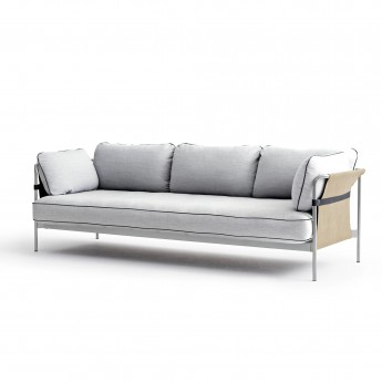 CAN sofa 3 seaters - Light grey 5