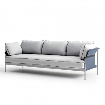CAN sofa 3 seaters - 6 Light grey