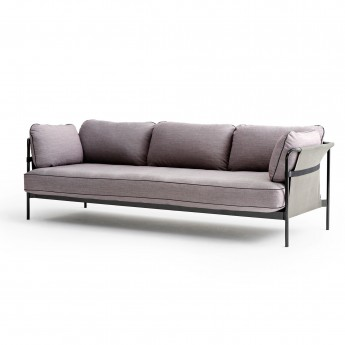 CAN sofa 3 seaters - 2 Red