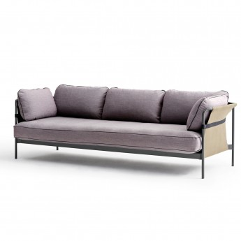 CAN sofa 3 seaters - 3 Red