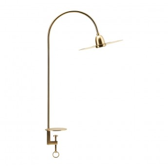 Lampe à poser GLOW BRASS FINISH