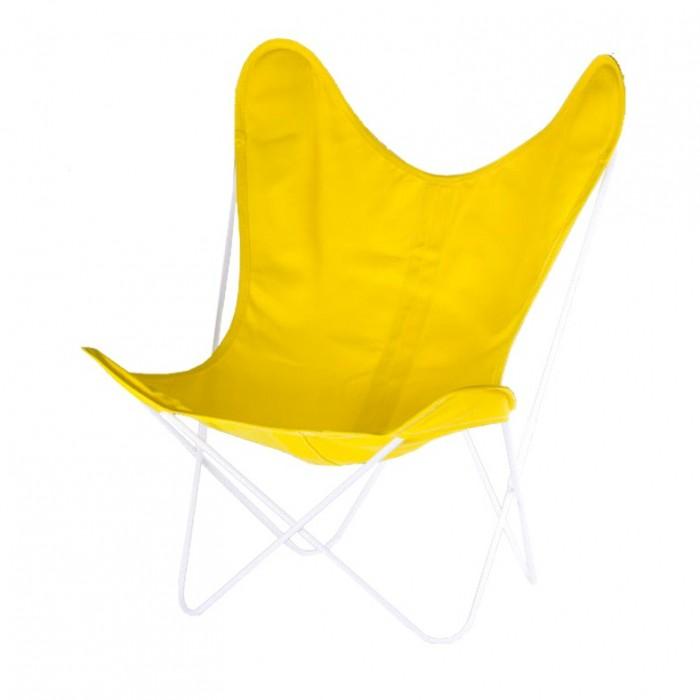 AA BUTTERFLY canvas armchair