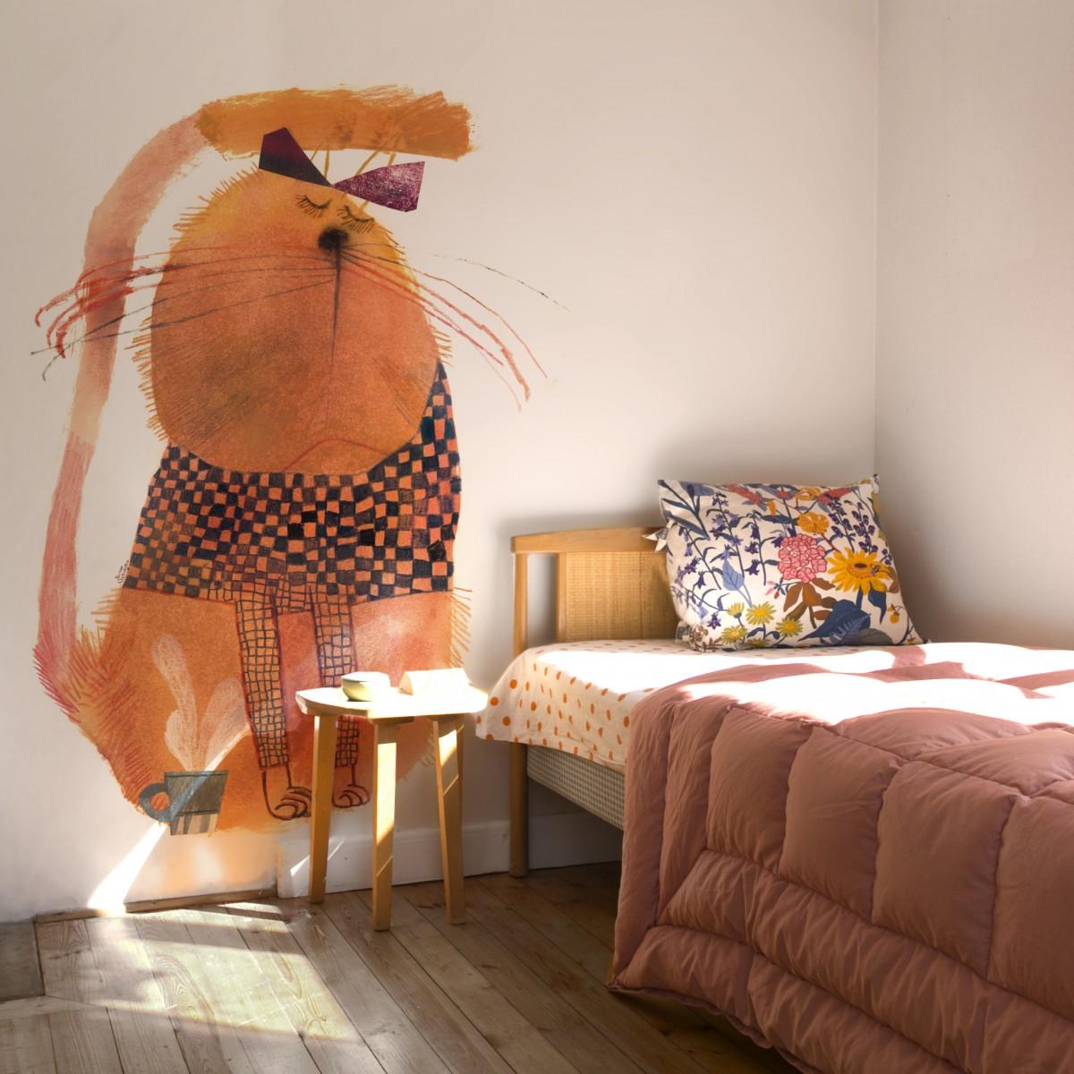 Cat Wallpaper For Bedroom