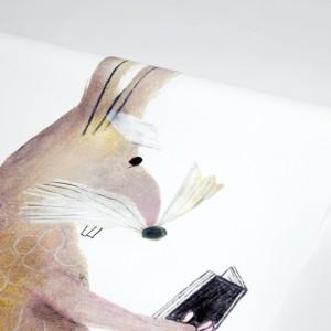 Papier peint LAPIN Béatrice Alemagna
