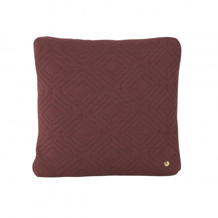 Coussin QUILT Rust 45 x 45