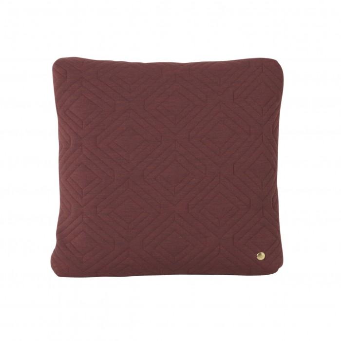 QUILT Rust Cushion 45 x 45