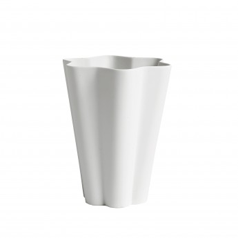 Vase IRIS blanc L