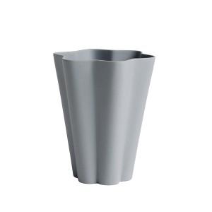Vase IRIS gris L