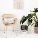 CUUN black rattan chair