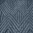 Couvre-lit TRIA bleu