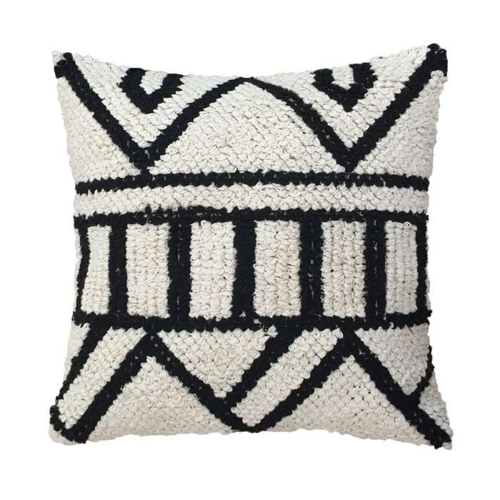 AZTEC cushion Hand knotted