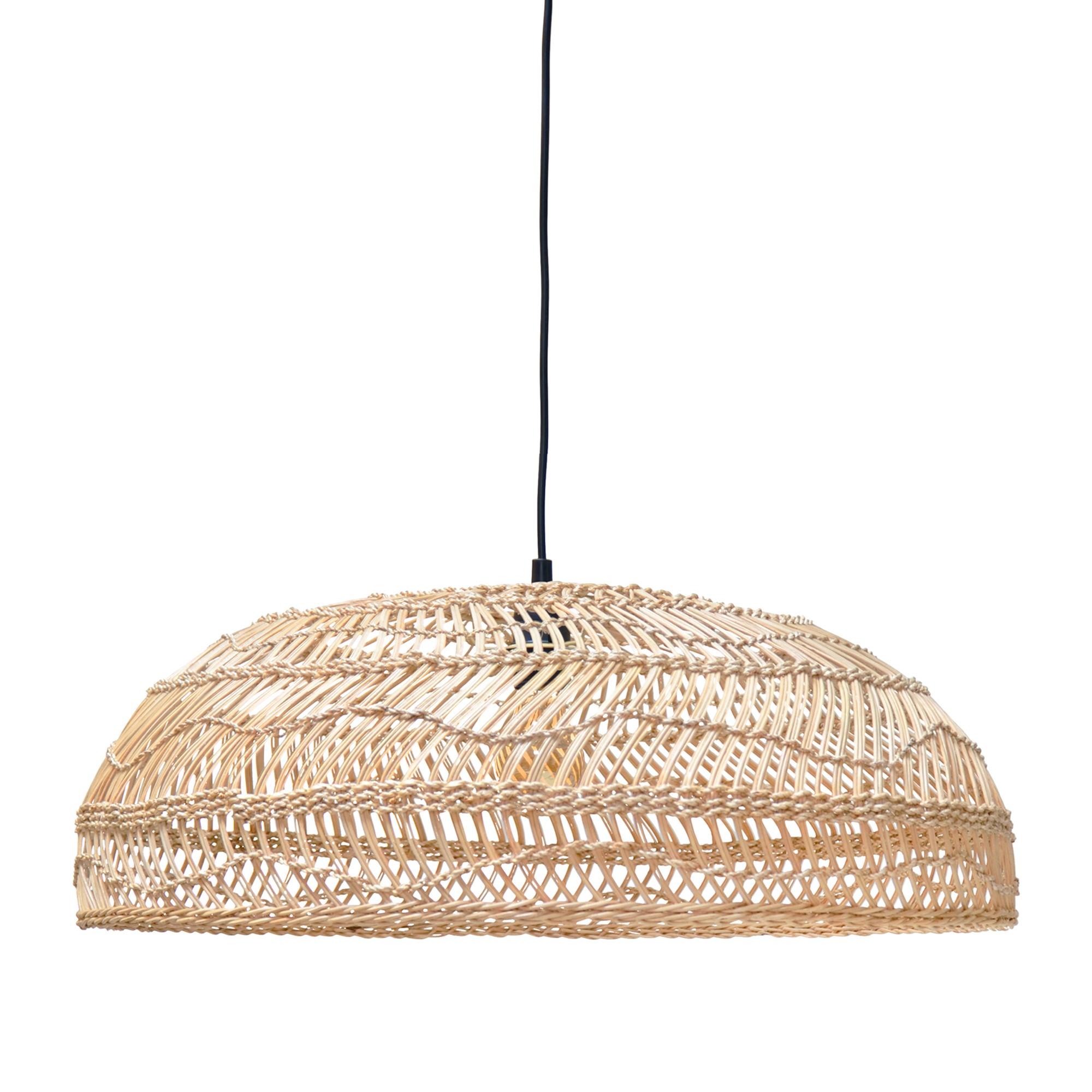Lampe En Naturel En Naturel Osier Lampe Lampe Plate Plate Osier DEH2W9I