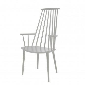 Fauteuil J 110 dusty grey