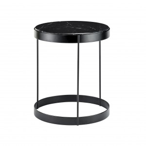 Table basse DRUM marbre noir