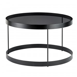 Table basse DRUM noir