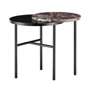 Table basse CLOSER marbre rouge
